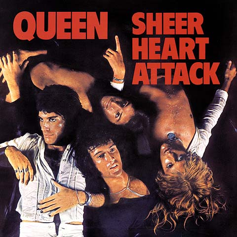 Letras del Disco Sheer Heart Attack